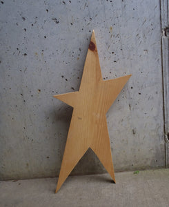 Star Unfinished Wood Shape Cutouts Primitive Wood Star Rustic Farmhouse Decor Blank Wood Sign Decor Craft Supplies Home Wooden Door Plaque