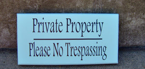 Private Property Please No Trespassing Wood Vinyl Sign Seafoam Beach Cottage Home Wall Entry Door Hanger Porch Decor Sign Private Residence