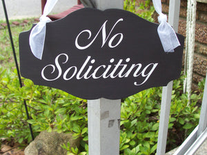 No Soliciting Sign Wood Vinyl Home Decor Door Hanger Do Not Disturb Knock Ring Bell Porch Sign Wreath Sign Wall Hanging Wall Signs For Homes