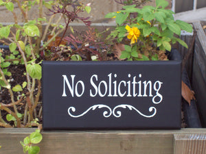 No Soliciting Sign Decorative Wood Signs Vinyl Sign Yard Sign Do Not Disturb Outdoor Sign Wall Sign Wall Decor Porch Decor Front Door Decor