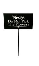 Load image into Gallery viewer, flowers cute sign