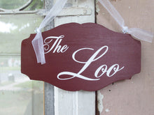 Load image into Gallery viewer, loo sign