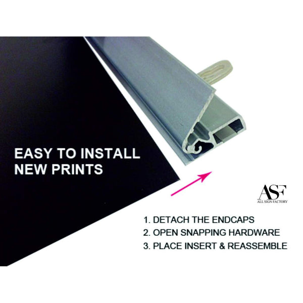 "Snap Poster Hanger 36"" (W)"