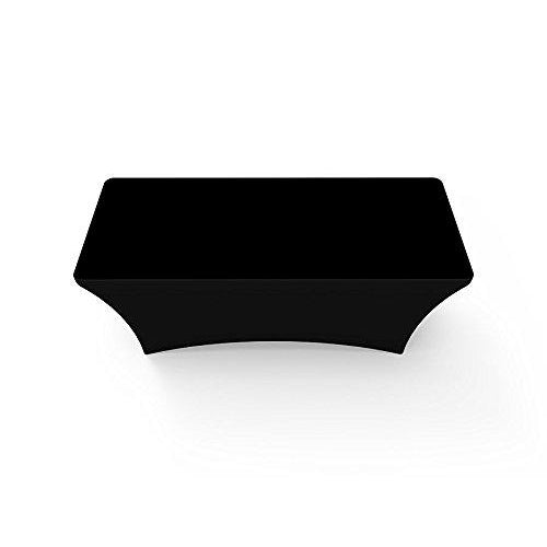 Black Stretch Table Covers