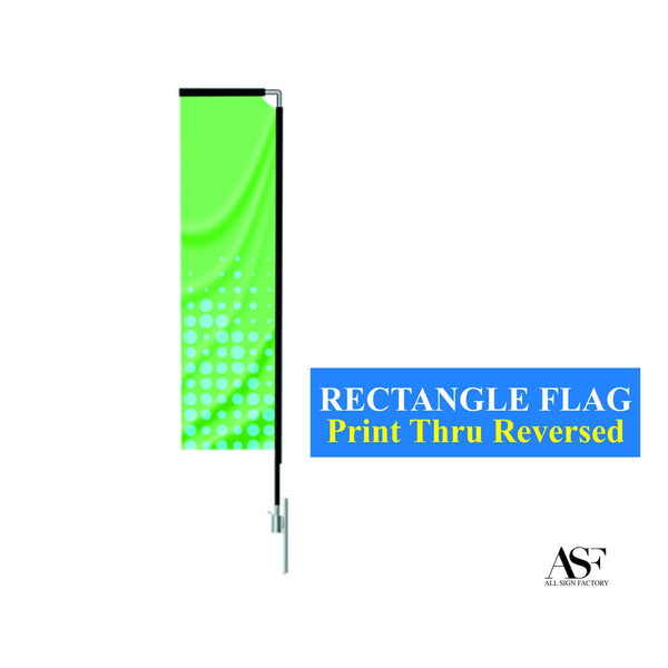 Rectangle Flag (Small 8.5 ft)