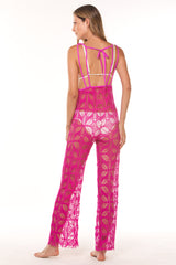 Magenta Triana Lace Jumpsuit