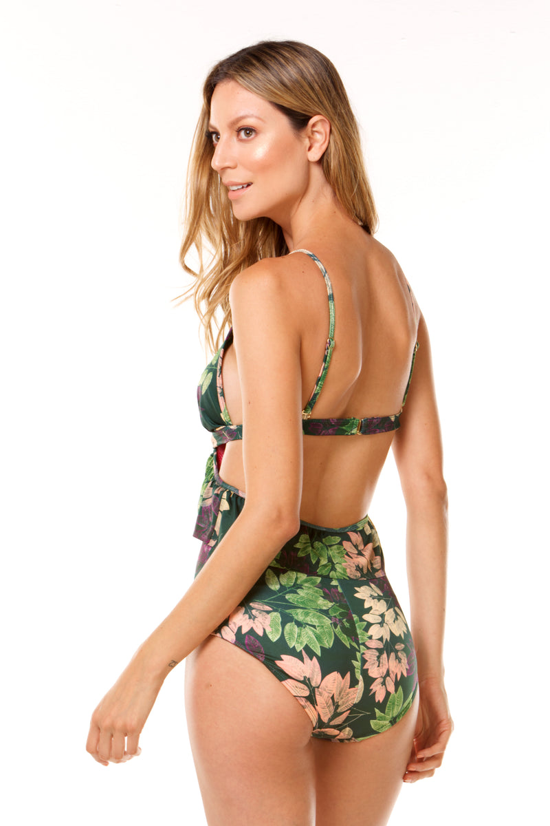 Green Beauty Forrest One Piece in ECCO fabric