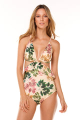 Vanilla Beauty Forrest One Piece in ECCO fabric