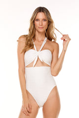 Macadamia Gold Texture One Piece