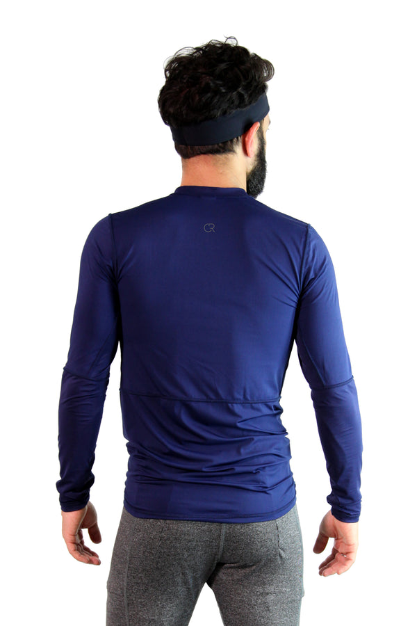 Tech Long Sleeve Blue