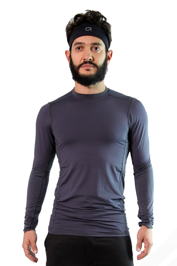 Tech Long Sleeve Grey