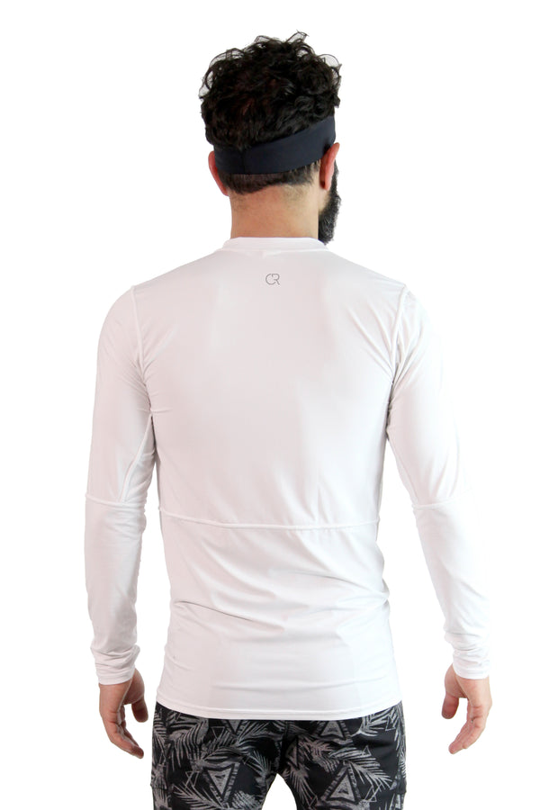 Tech Long Sleeve White