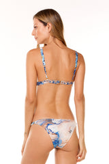 Blue Calma Bikini in ECCO fabric