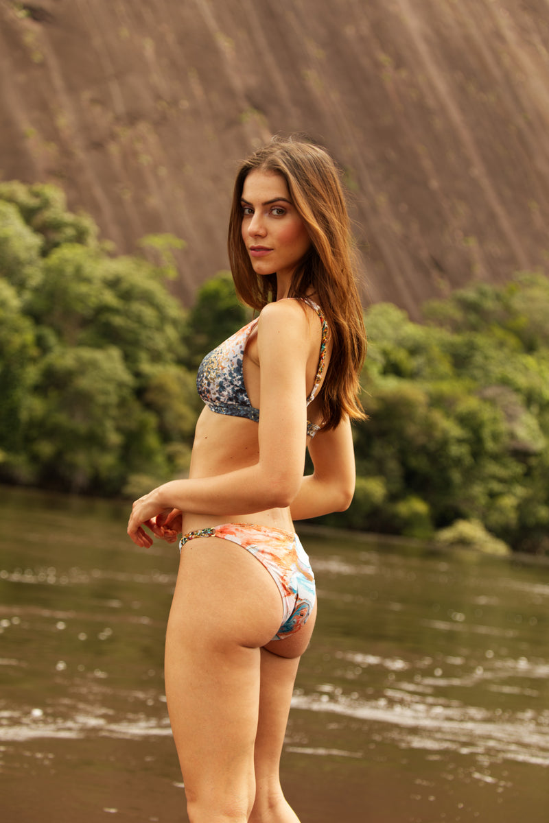 Sand Calma Bikini in ECCO fabric