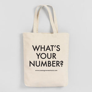 """What's Your Number?"" Tote"