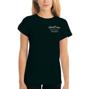 """What's Your Number?"" Women's Shirt - Black"