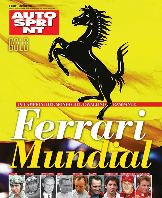 Ferrari Mundial - Gold collection