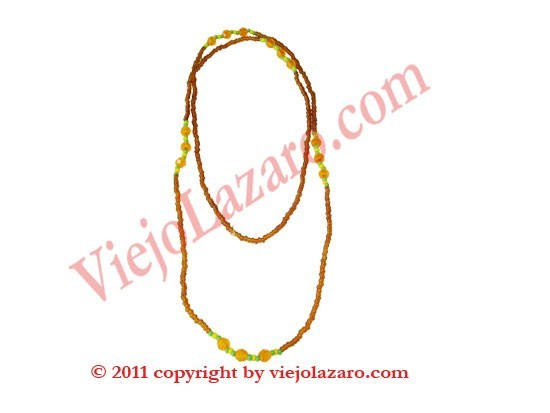 Ochun Necklace fine Ololodi