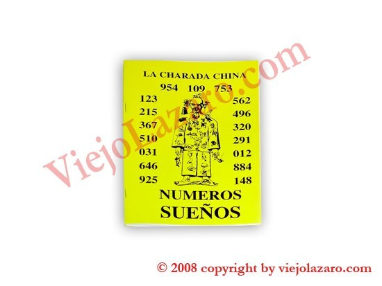 La Charada China: Numberos Sueños (Spanish)