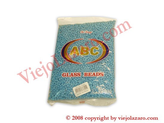 Glass Beads - Light Blue