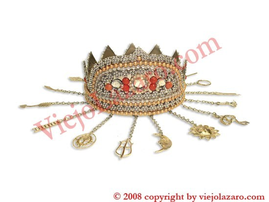 Obatala Crown (Osha Kirina)