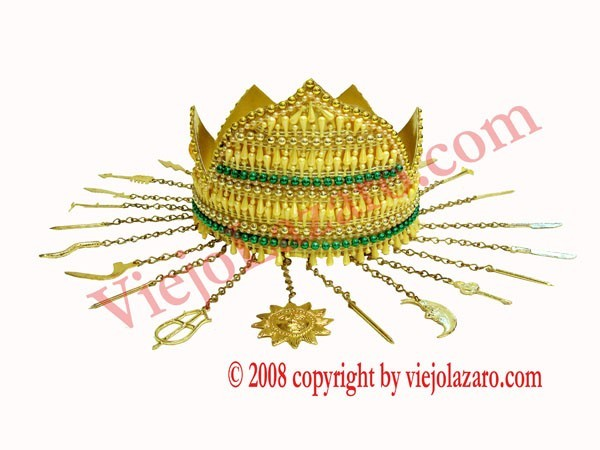 Oshun Crown (Ololodi)