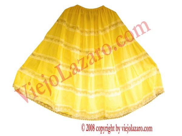 Oshun Skirt (ginga)