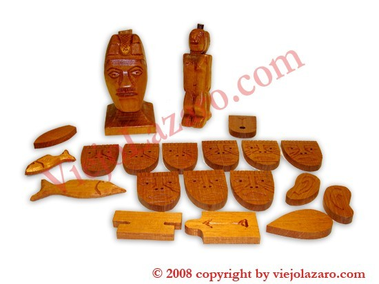 Tools for Babalao's Olokun