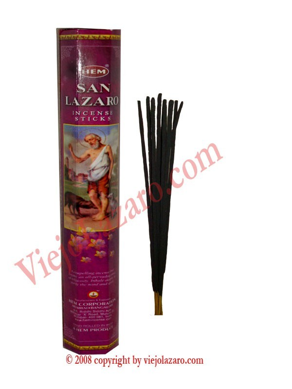 San Lazaro Incense Sticks