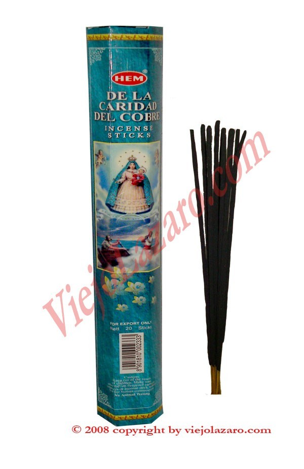 De La Caridad Del Cobre Incense Sticks