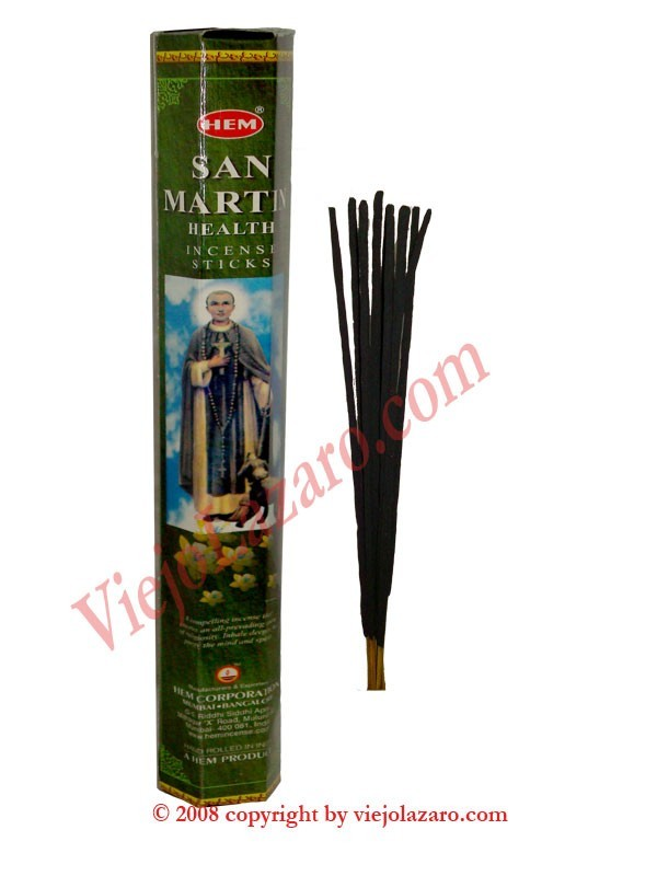 San Martin Health Incense Sticks