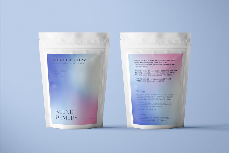 WONDER GLOW BEAUTIFYING BODY SCRUB