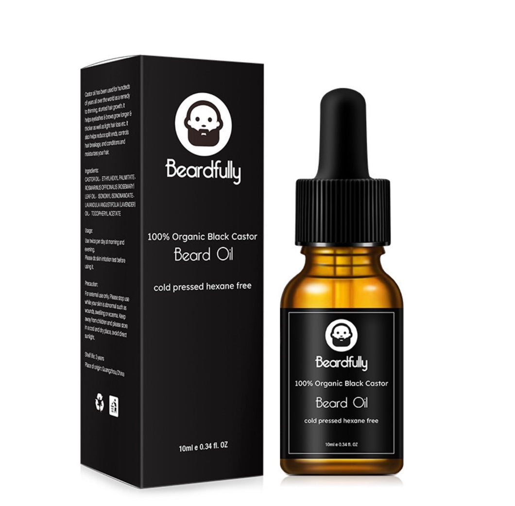 Beardfully Organic Castor Beard Oil