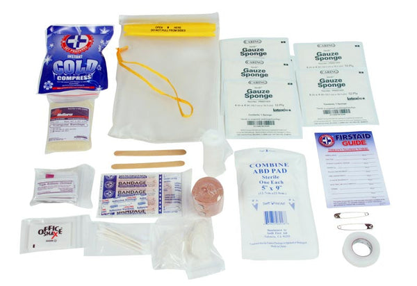 2 Patient Heavy Duty Waterproof Medical Kit