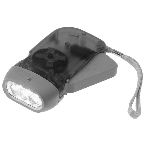 3 LED Dynamo Powered Flashlight