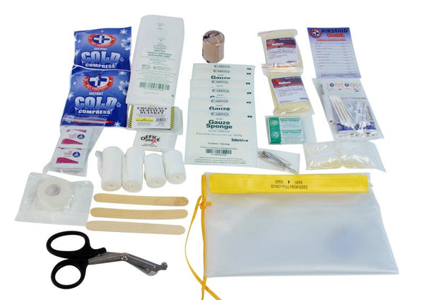5 Patient Heavy Duty Waterproof Medical Kit