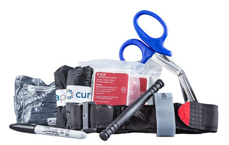Curaplex Stop The Bleeding Kit - Basic