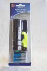 9 LED Waterproof Flashlight