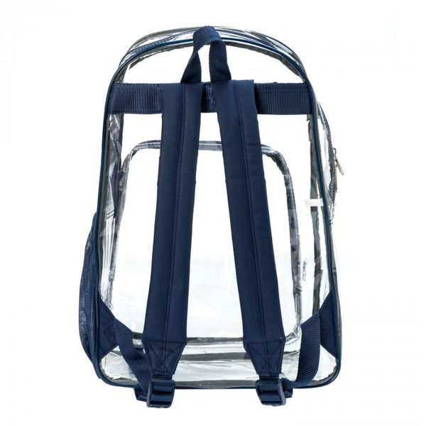 Heavy Duty Clear Classic School Backpack for Security Checkpoint