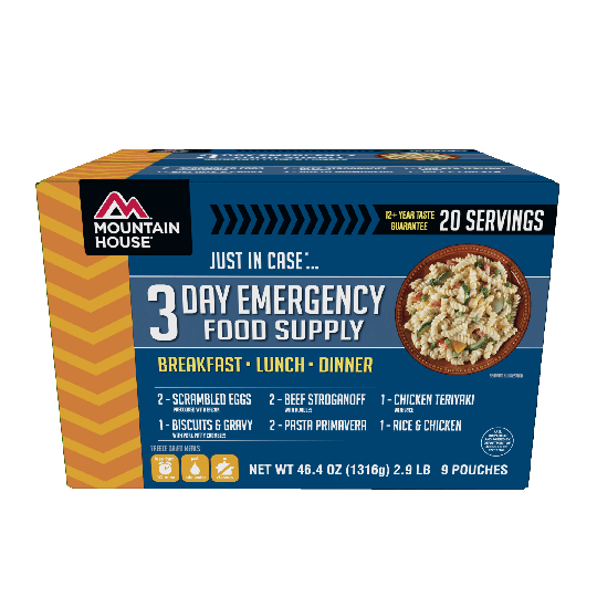 "Mountain House ""Just In Case"" 3 Day Emergency Food Supply Kit"