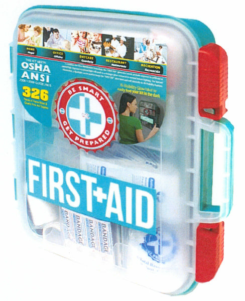 OSHA 326 Piece First Aid Kit