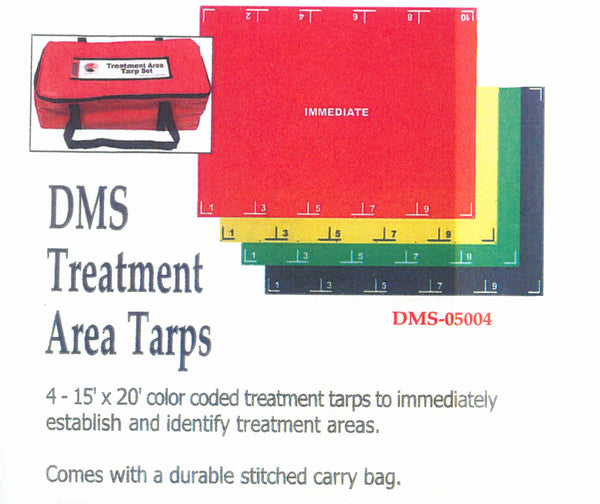 Triage & Treatment Tarp System, Reusable