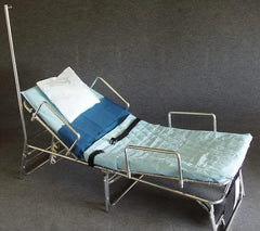 Patient Transport Unit w/ Safety Rails & IV Pole - 300LB Capacity