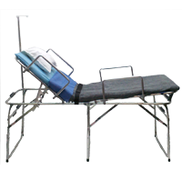 Active Patient Care Hospital Bed w/ Safety Rails & IV Pole - 450 lb Capacity