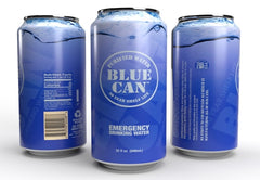 """BIG BLUE""  Blue Can - Premium Emergency Drinking Water"