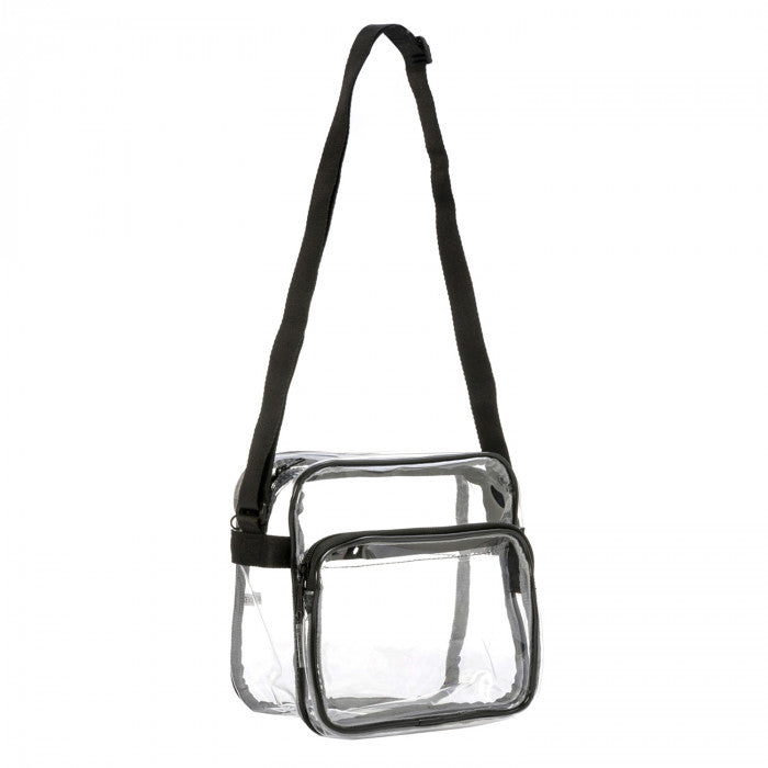 Clear PVC Stadium Approved Small Shoulder Bag