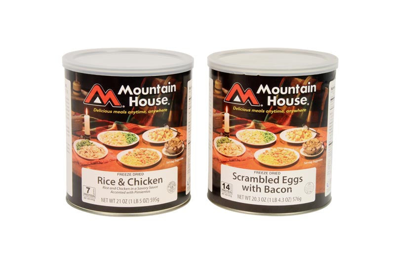 Oregon Freeze Dried (Mountain House) Bulk Canned Food In Cases