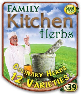 Kitchen Herb Pack 1