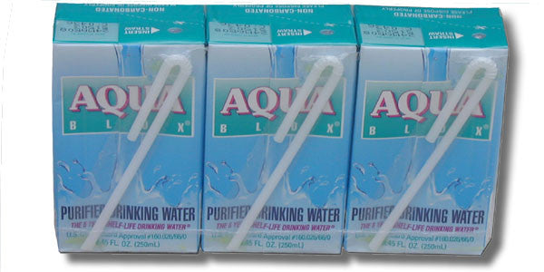 Aqua Blox - 6.75 oz. with Straw