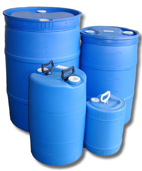 Rigid Water Drums, Containers - 15, 30, 55 Gal.
